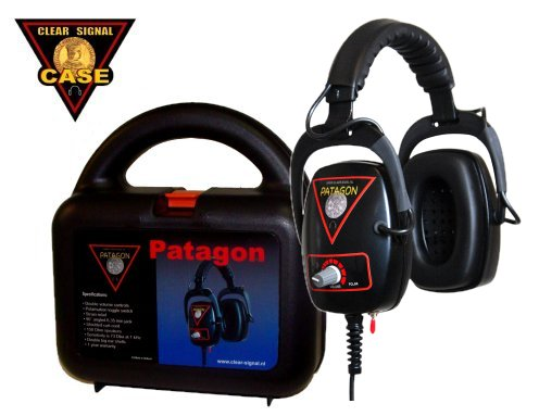 Clear Signal Metaldetector Headphone Patagon with case