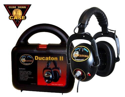 Clear Signal metaaldetector koptelefoon Ducaton met koffer